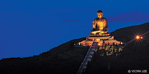 Tượng Phật lớn nhất ở Hồng Kông Tại Cao Nguyên Ngong Ping
