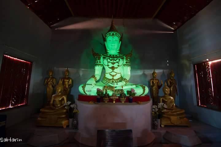Phật phát sáng Người duy nhất ở Thái Lan, Lampang