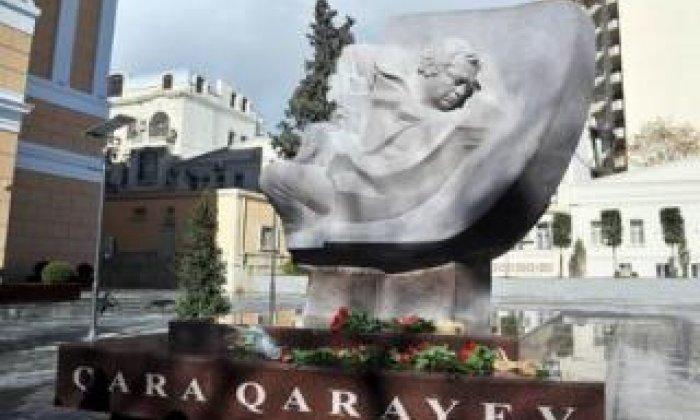 Bức tượng Gara Garayev ở Baku