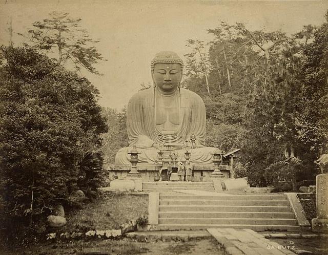 Đức Phật lớn Kamakura cao 13 mét và nặng 93 tấn