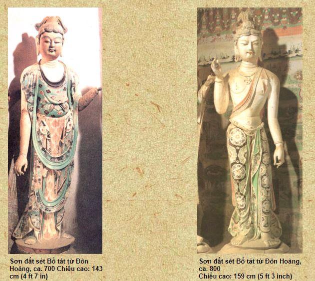 Có nhiều tượng Mẹ Quán Thế Âm Bồ tát khác nhau, nhưng nổi tiếng nhất ở Trung Quốc là Avalokitesvara.