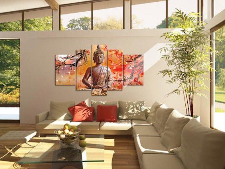 Tượng nghệ thuật trang trí tạo nên sự tích cực trong phòng khách