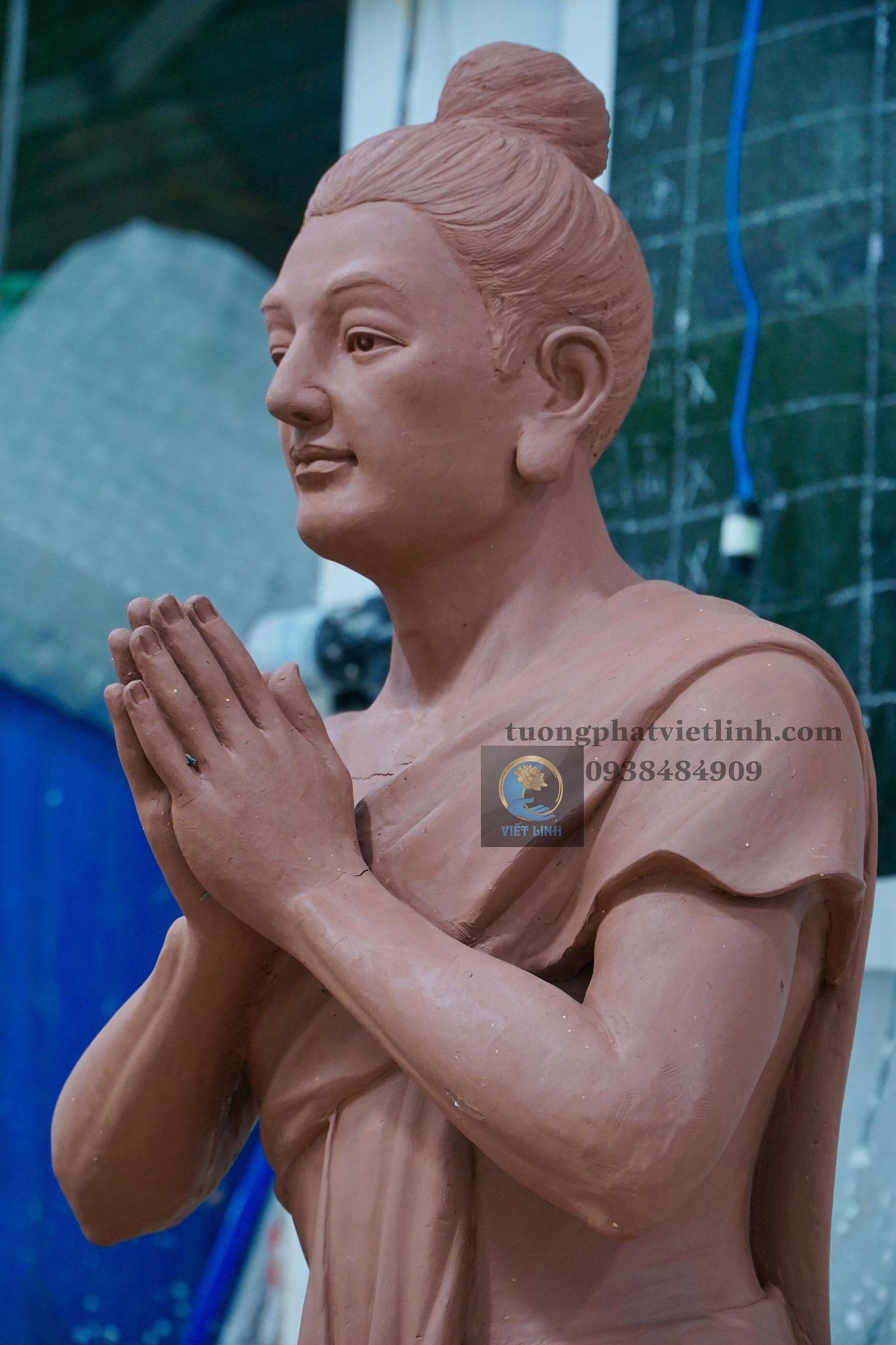Thi công tượng 5 Anh Em Kiều Trần Như tại Đắk Lắk