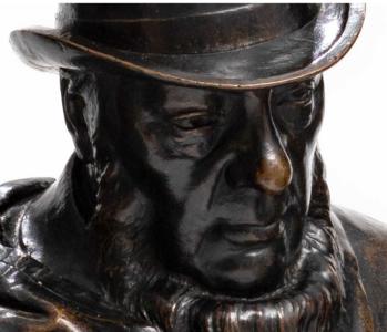 Van Wouw điêu khắc lấy giá kỷ lục