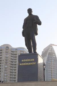 Các bức tượng của Baku