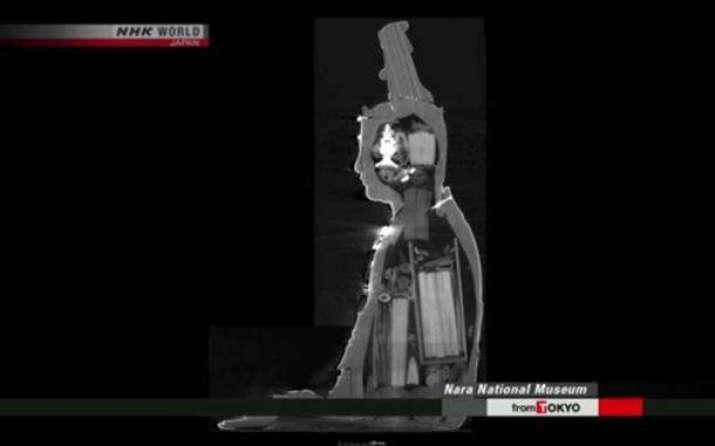 180 hiện vật được khám phá trong bức tượng cổ đại của Bồ tát Văn Thù Sư Lợi Bồ Tát