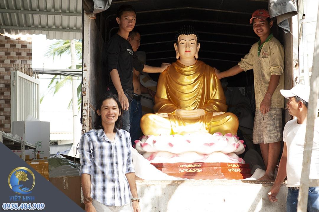 Thi Công Tượng Phật Suối Nho - Đồng Nai