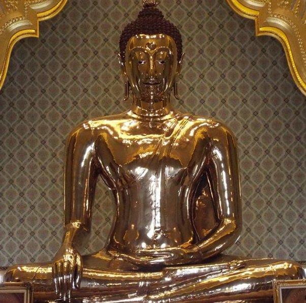 Tượng Phật vàng lớn nhất thế giới đến nay đã hơn 800 tuổi