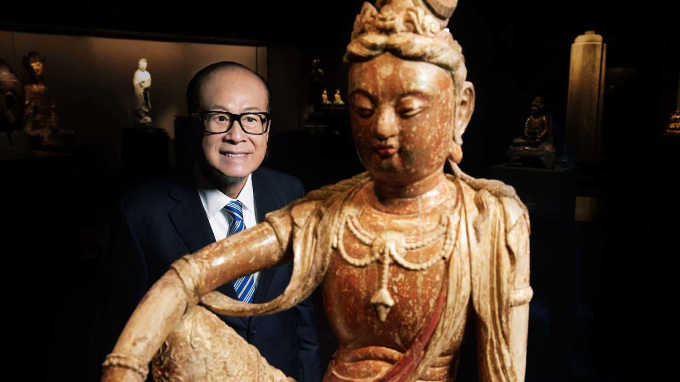 Ông trùm kinh doanh Li Ka-shing, người giàu nhất Hồng Kông mở bảo tàng tượng Phật trị giá $ 380M