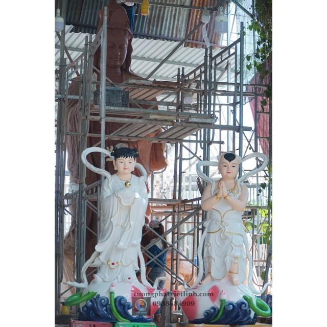 Địa chỉ sản xuất tượng tiên đồng ngọc nữ đẹp, chất lượng, ship tận nơi tại hcm.