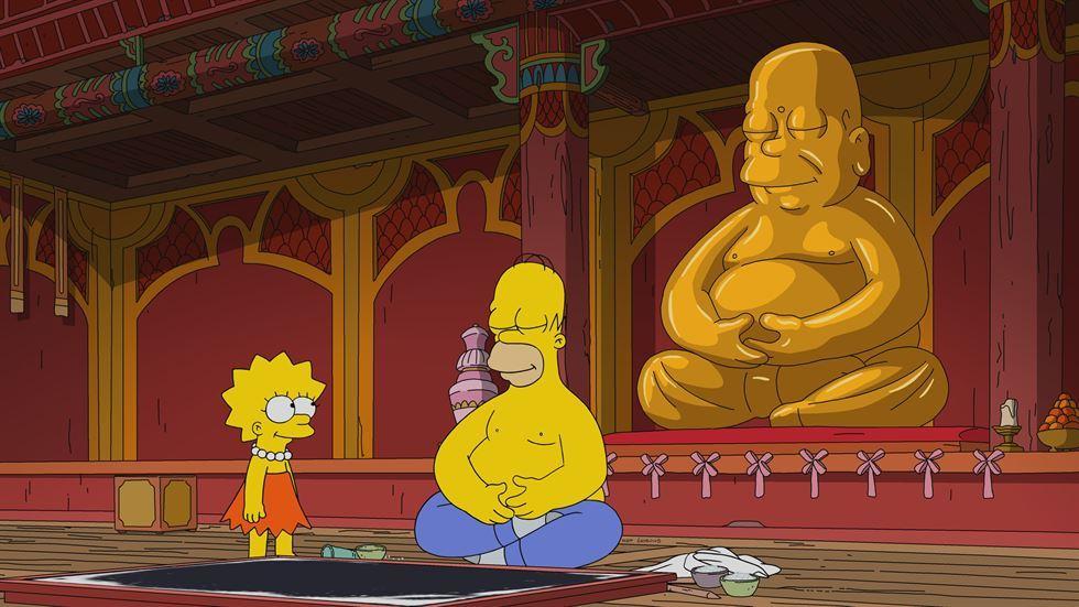 Chuyến thăm của Simpsons đến ngôiđền Jogye mất dấu