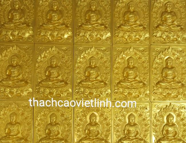 Phù Điêu Tượng Phật Bằng Nhựa Composite Đường Nét Tỉ Mỉ Tinh Tế