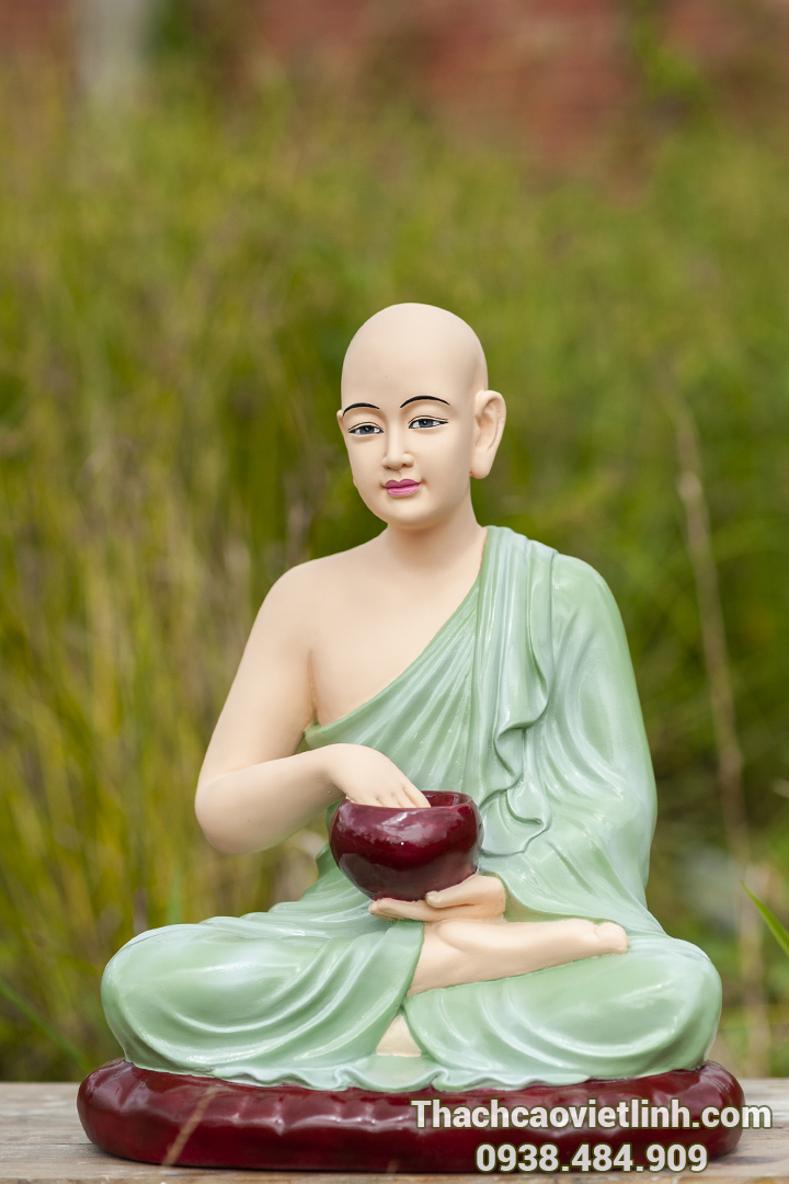 Tượng phật composite sản xuất từ cơ sở tượng Phật thạch cao Viết Linh
