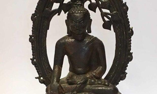 Tượng Phật bị đánh cắp đã trở về Ấn Độ sau khi được tìm thấy ở Vương quốc Anh