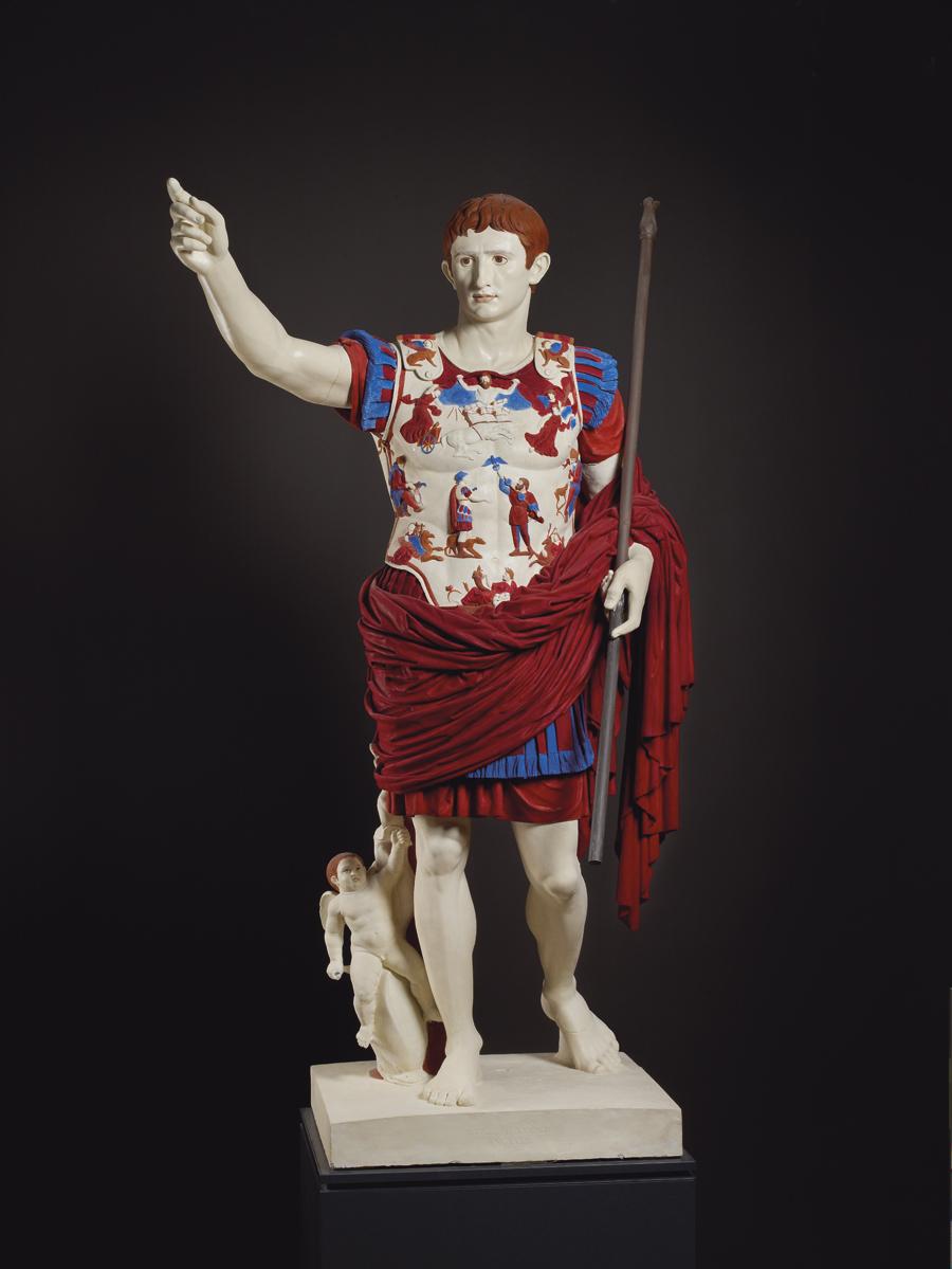 Người xưa đã tô màu tác phẩm điêu khắc của họ đến mức độ nào?