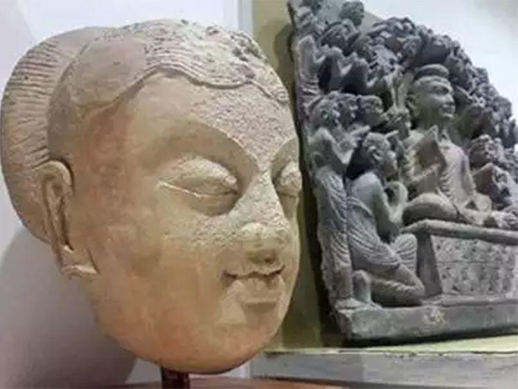 Bảo tàng Islamabad trưng bày bức tượng Phật quý hiếm