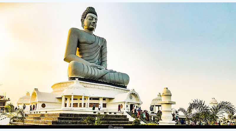 Hãy cùng Thạch Cao Viết Linh chiêm ngưỡng những bức tượng Phật cao nhất của Ấn Độ