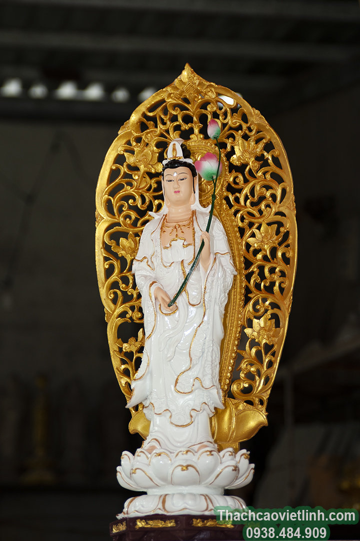 tượng đại thế chí bồ tát,tượng phật composite